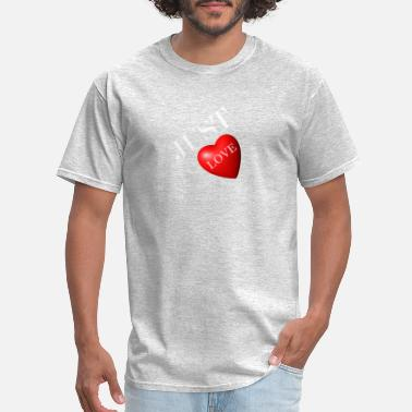Just Love - Men's T-Shirt