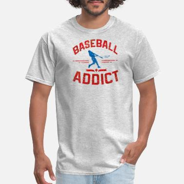 Baseball Addict baseball addict - Men's T-Shirt