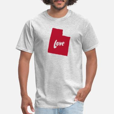 Love Utah Utah Love - Men's T-Shirt