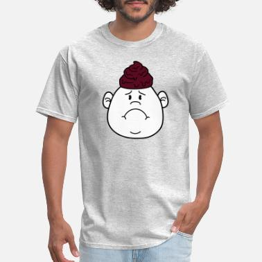 Litte Boy face shit heap heap heap shit floppy big head litt - Men's T-Shirt