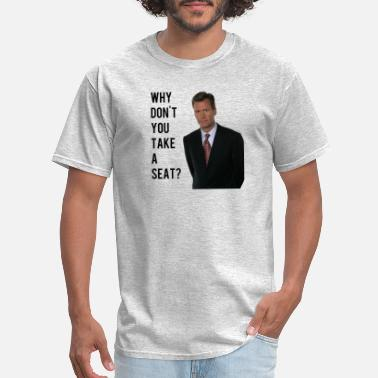 Seat chris hansen - Men's T-Shirt