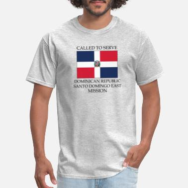 Dominican Dominican Republic Santo Domingo East LDS Mission - Men's T-Shirt