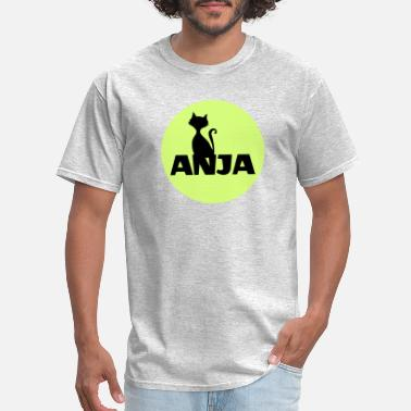 Firstname Idea Anja name firstname - Men's T-Shirt