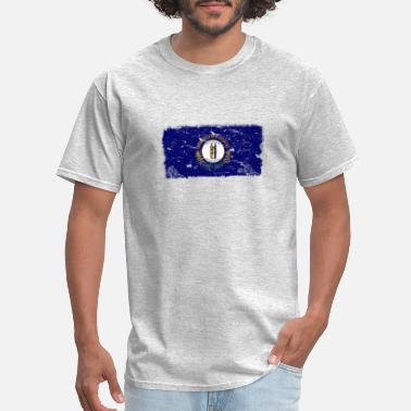 Kentucky Flag Kentucky Vintage Flag - Men's T-Shirt