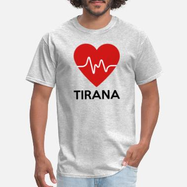 Tirana Heart Tirana - Men's T-Shirt