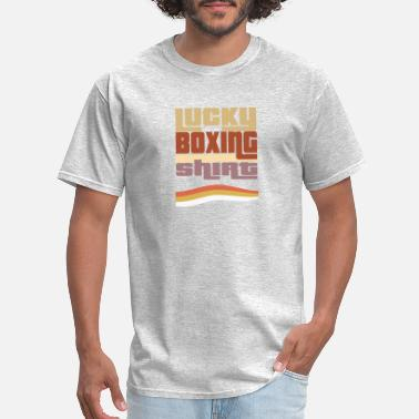 Luck Box Lucky Boxing shirt, retro, vintage, 80s, #Boxing - Men's T-Shirt