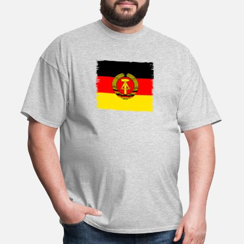 df8c04a238f Germany T-Shirts - ddr germany east GDR flag retro wall emblem - Men s T.  Do you want to edit the design