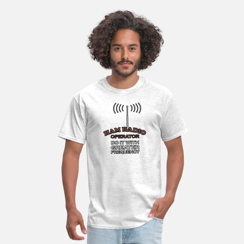 HAM Radio Operators Do it With Greater Frequency Men/'s Hoodie Sweatshirt