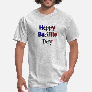 Bastille Day Happy Bastille Day - Men's T-Shirt