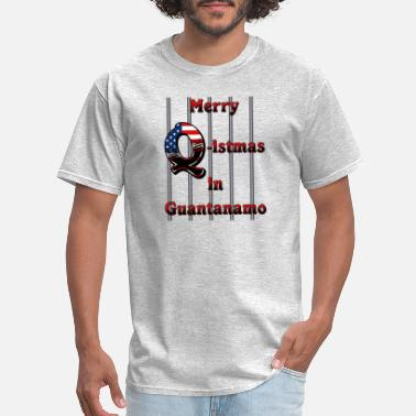 Guantanamo Merry Q istmas in Guantanamo - Men's T-Shirt