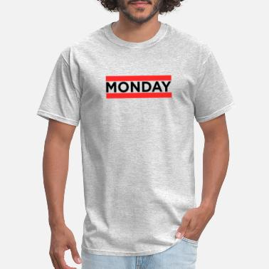 Office Monday Monday Office Joke Funny Gif - Men's T-Shirt