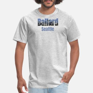 Neighborhood Kids Seattle Skyline, Ballard Neighborhood Seattle City - Men's T-Shirt
