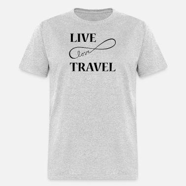 19d895f7 Live Love Travel Men's Premium T-Shirt   Spreadshirt
