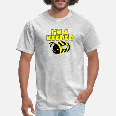 Bee Saying Funny Beekeeper Saying for honey bee wasp gift - Men's T-Shirt
