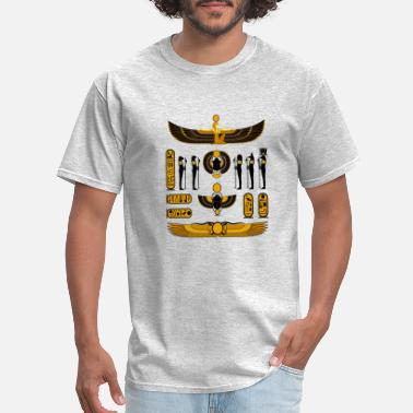Anubis pharaoh of egypt - Men's T-Shirt