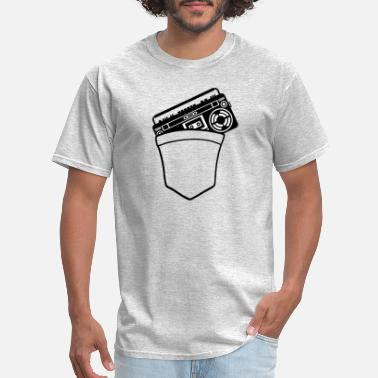 Take-away bags ghetto blaster take away chest funny travelin - Men's T-Shirt