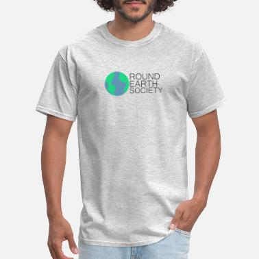 Round Earth Society - Men's T-Shirt