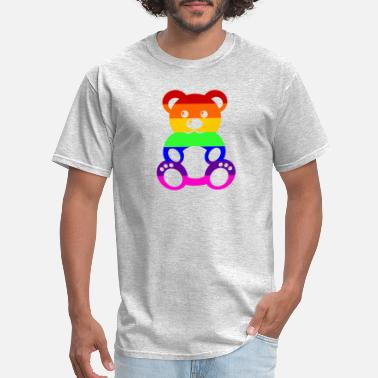 Teddy Gay Pride Teddybear - Men's T-Shirt