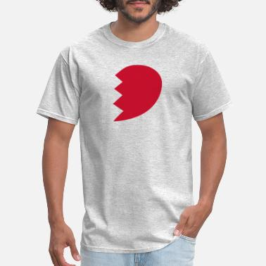Half Life Broken Heart right Half funny tshirt - Men's T-Shirt