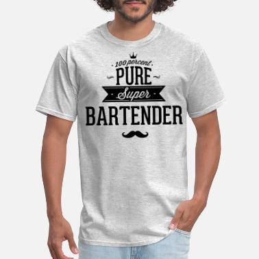 Guest 100 percent pure super bartender - Men's T-Shirt
