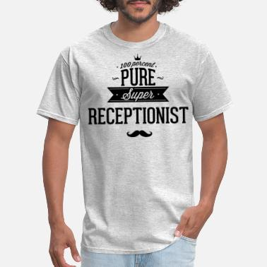 Secretary 100 percent pure super receptionist - Men's T-Shirt