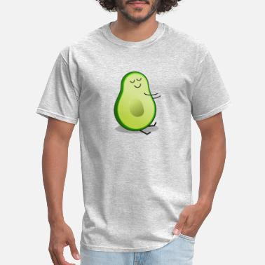 Avo half (without stone) - Men's T-Shirt