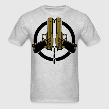 Peace gold - Men's T-Shirt