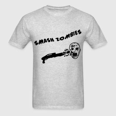 Smash Zombies - Men's T-Shirt