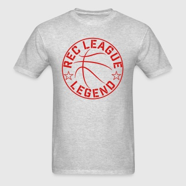 Basketball Rec League Legend - Men's T-Shirt