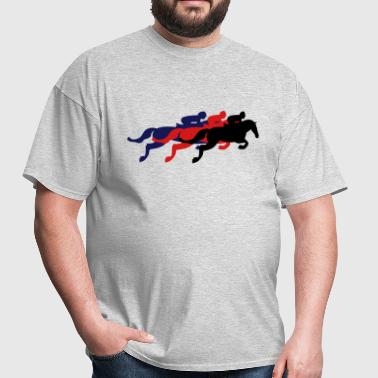 Horse Race - Steeplechase - Derby - Racing - Men's T-Shirt