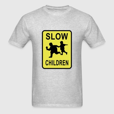 Slow Chilrden - Men's T-Shirt