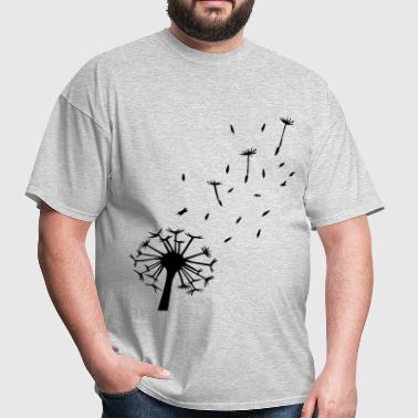 Flying Dandelion - Men's T-Shirt