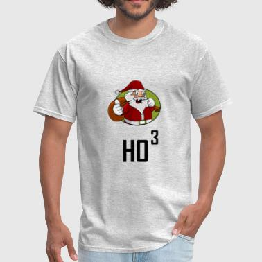 Santa Ho3 Power Of 3 Cubed - Men's T-Shirt