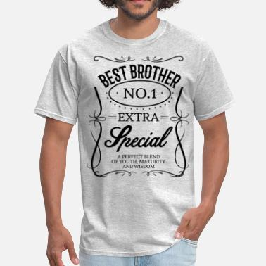 Worlds Best Brother Ever BEST BROTHER - Men's T-Shirt