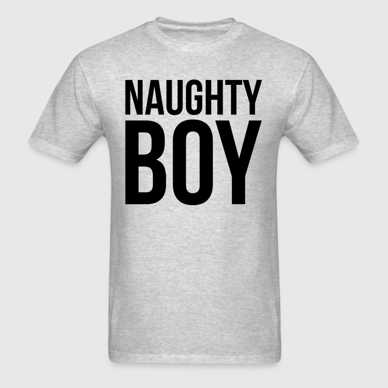 NAUGHTY BOY - Men's T-Shirt