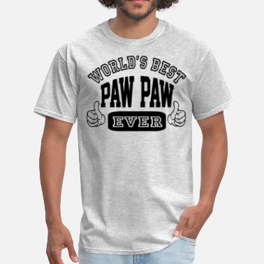 Best Paw Ever World's Best Paw Paw Ever - Men's T-Shirt