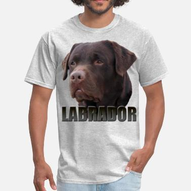 Chocolate Lab Labrador Brown - Men's T-Shirt