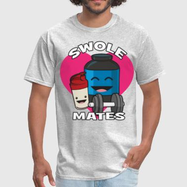 Swolemates (Protein Shake) - Men's T-Shirt