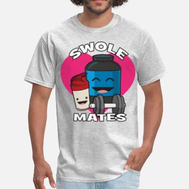 Swolemate Swolemates (Protein Shake) - Men's T-Shirt