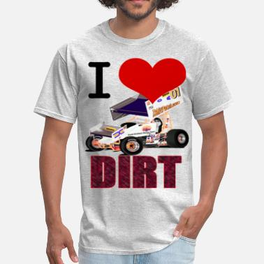 Sprint I love DIRT - Men's T-Shirt