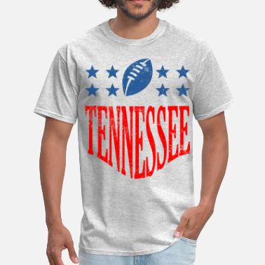 Tennessee Football tennessee football - distressed - Men's T-Shirt
