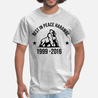 Rest In Peace Rest In Peace Harambe - Men's T-Shirt