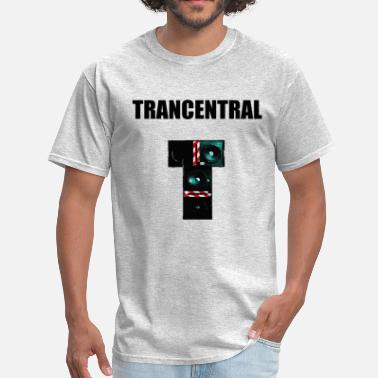 Electronica Trancentral. - Men's T-Shirt