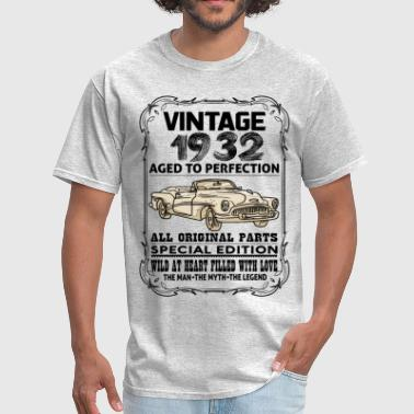 VINTAGE 1932-AGED TO PERFECTION - Men's T-Shirt