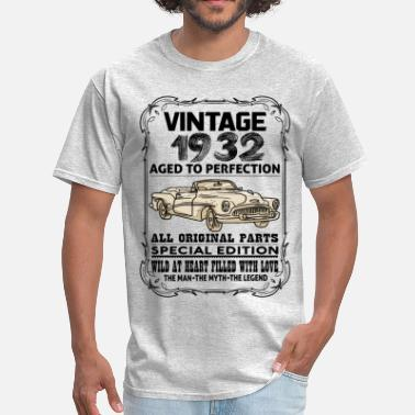 1932 VINTAGE 1932-AGED TO PERFECTION - Men's T-Shirt