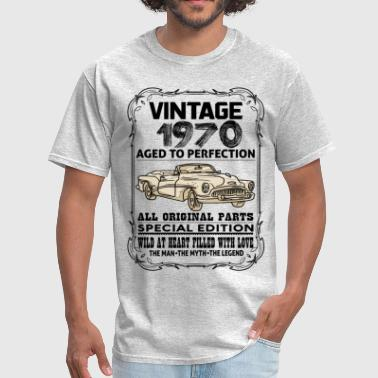 VINTAGE 1970-AGED TO PERFECTION - Men's T-Shirt