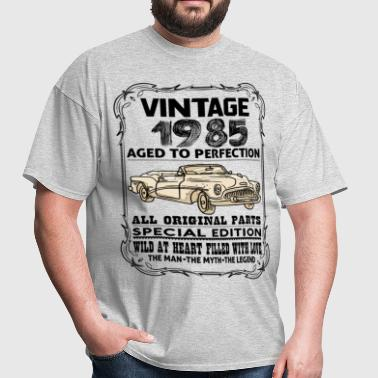 VINTAGE 1985-AGED TO PERFECTION - Men's T-Shirt