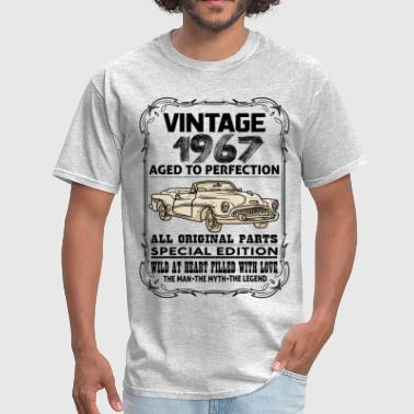 Perfection 1967 VINTAGE 1967-AGED TO PERFECTION - Men's T-Shirt