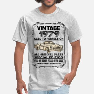 Vintage 1979 VINTAGE 1979-AGED TO PERFECTION - Men's T-Shirt