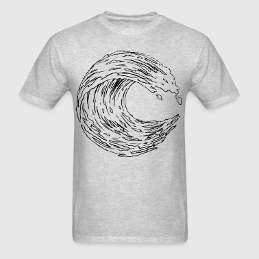 wave - Men's T-Shirt
